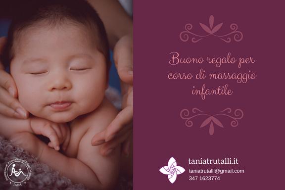 Corso di massaggio infantile - Buono Regalo