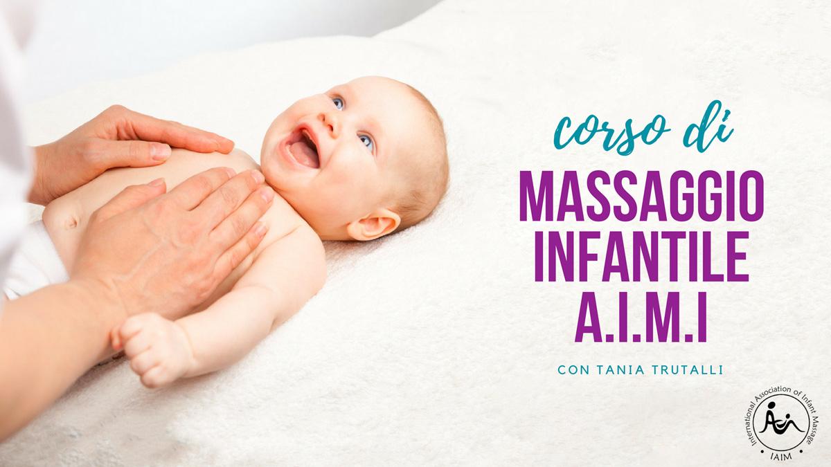 Corso di massaggio infantile AIMI con Tania Trutalli